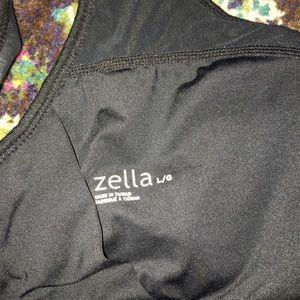 Zella Tops - Zella Sports Bra Black White L